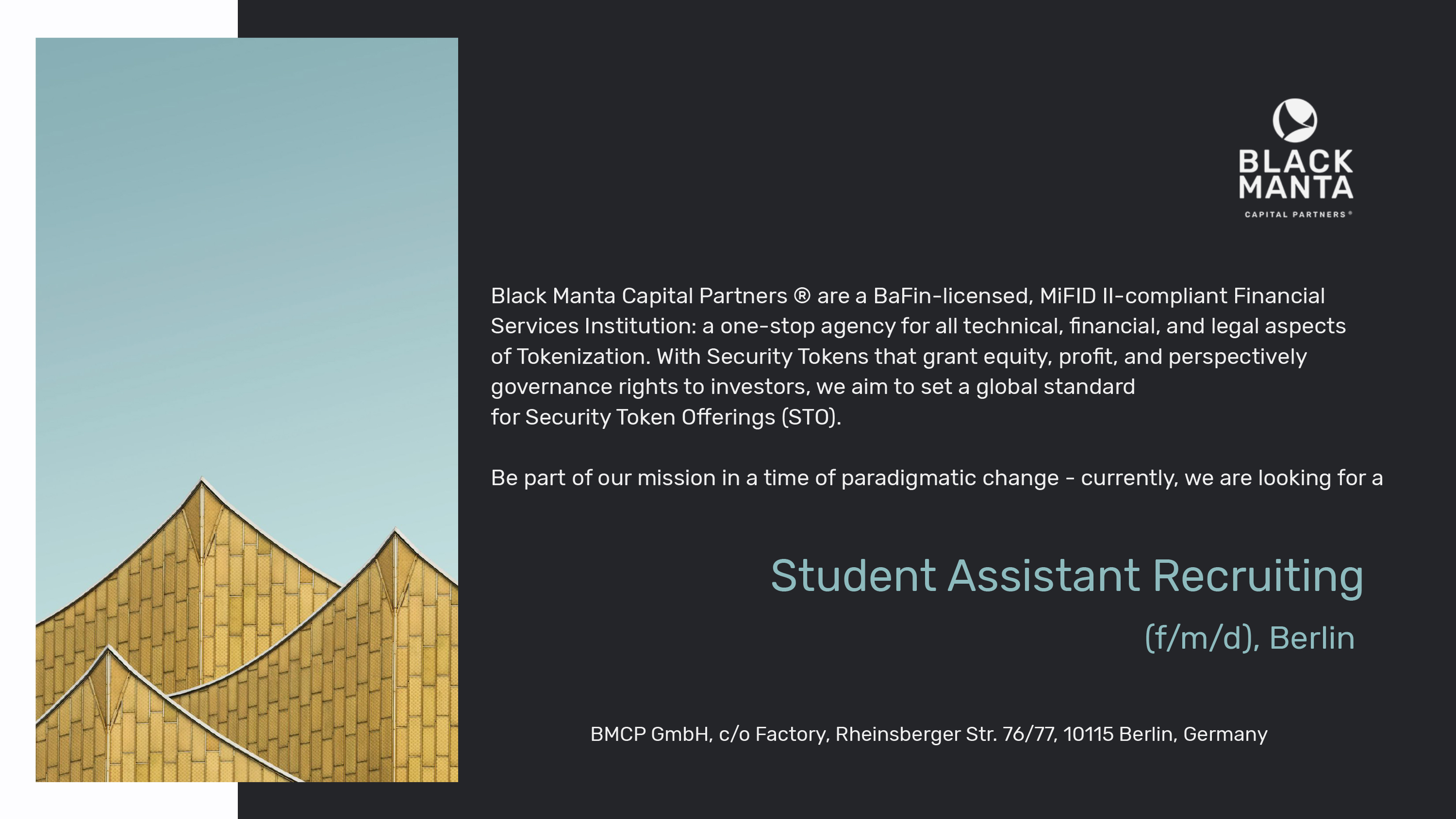 BER Student Assistant Recruiting