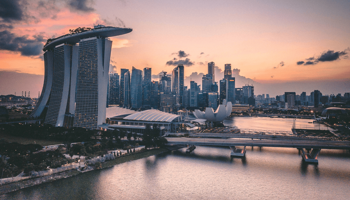 Singapore FinTech Festival - Finance meets Blockchain